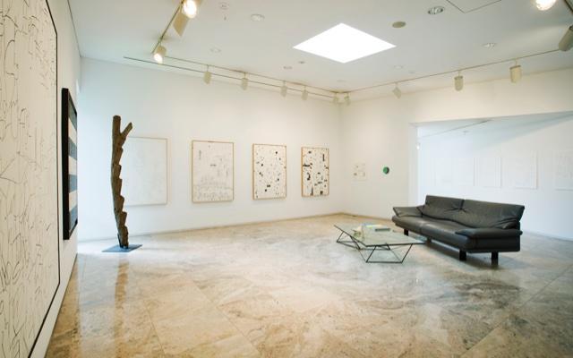 脇田美術館展示風景2008